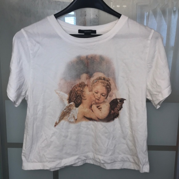 ace58868f58d74 Forever 21 Tops - Angel crop top